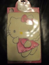 Cute Hello Kitty front Car Seat & headrest Covers Soft Set cream 2006
