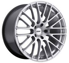 20x10.5 TSW Max 5x120 Rims +25 Hyper Silver Wheels (Set of 4)