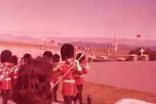 Vintage 1959 Negative / 35mm Slide- Quebec- Canada- Fortification- Band Marching
