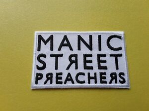Manic Street Preachers Patch Embroidered Iron On Or Sew On Badge