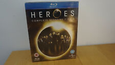 Heroes: Complete Seasons 1-3 Blu-ray [ Sealed - but with slight tear on box ]