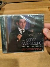 SERGE GAINSBOURG - THE SERGE GAINSBOURG COLLECTION: 1958-1962 NEW CD NEW sealed