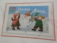FRANCE 2001 timbre 3437 BONNE ANNEE MEILLEURS VOEUX, neuf**, VF MNH