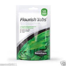 Seachem Flourish Plant Root Tabs Freshwater Aquarium Supplement 10 Tab Fert Pack
