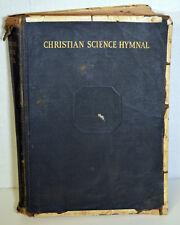 1937 Christian Science Hymnal Leader Ancient Hymns Book Mary Baker Eddy