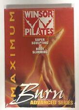 Winsor Pilates Super Sculpting Maximum Burn Advanced Series Dvd New