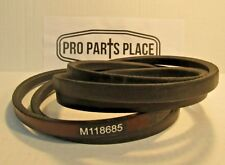 "HEAVY DUTY ARAMID JOHN DEERE M118685 DECK BELT FOR 54"" CUT MACHINES 5/8"" X 120"""