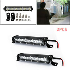 Quakeproof Single Row LED Spot Work Light Bar Off-Road 6000K Xenon White Useful