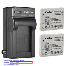 Kastar Battery Wall Charger for Canon NB-4L NB-4LH Canon Digital IXUS 50 IXUS 55