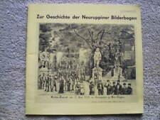 Zur Geschichte der Neuruppiner Bilderbogen - Neuruppin Land Brandenburg