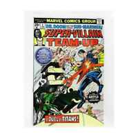 Super-Villain Team-Up #4 in VF + condition. Marvel comics [*sv] (stamp included)