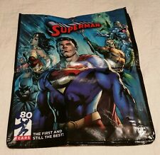 SDCC Comic Con Exclusive SUPERMAN 80 YEARS Anniversary Promo Back Bag