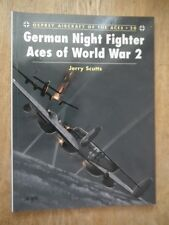 German Night Fighter Aces of World War 2 - Scutts (Aircraft of the Aces 20)