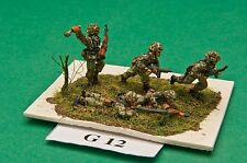 SGTS MESS G12 1/72 Diecast WWII German Panzer Grenadiers-Support-5 Figures