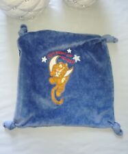 DOUDOU PLAT DISNEY TIGROU tigger jumped over the moon LUNE ETOILE FERMETURE BLEU