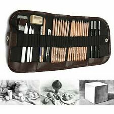 Set da 18pezzi di matite da disegno di alta qualità   Astuccio Matita carboncino