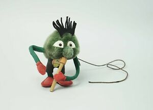1959 German Steiff Toy PECK Merck Pharmaceutical Promo Figurine Pathogen Virus