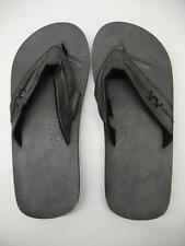 NEW Grey Casual Flip Flops Sandals Summer Beach Pool Shoes Men's Size 9