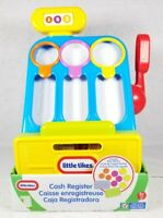 Little Tikes Cash Register w/ Play Money Childrens Kids Toy Game Ages 2+ New