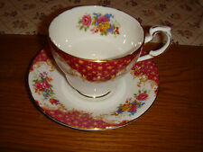 Paragon Rockingham red breakfast cup and saucer superb