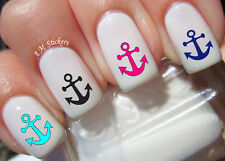 Anchor Nail Art Stickers Transfers Decals Set of 72