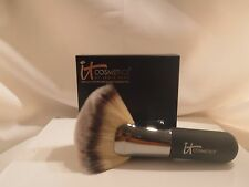 it Cosmetics Heavenly Luxe Mega Plush Fan Brush #9 Black Face/Body Authentic