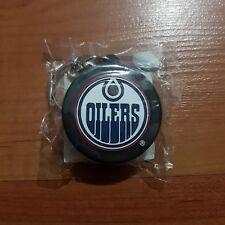 Edmonton Oilers Mini NHL Hockey Puck Keychain