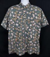 Reyn Spooner Commemorative Classics Hawaiian Shirt Mens L Short Sleeve Pullover