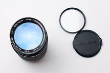 MC Soligor C/D Zoom Macro 80-200mm f4.5 for Minolta MD Filter & Caps (#1894)