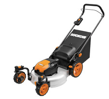 "WORX WG719 13 Amp 20"" Electric Lawn Mower with Caster Wheels - New"