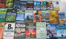 JAMES PATTERSON - 24 OF HIS BESTSELLERS - some with Andrew Gross -MARY,MARY+++
