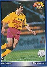 N°098 JOEL BOSSIS CHATEAUROUX CARTE PANINI FOOTBALL 95 FRANCE CARDS 1995