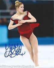 GRACIE GOLD HAND SIGNED 8X10 PHOTO w/COA USA FIGURE SKATING SOCHI OLYMPICS
