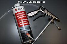 Würth saBesto Wax Underbody coating Transparent 6 x incl. Underseal gun