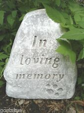 Plaster,concrete,Pet Memorial plastic mold L@@K more pet molds in ebay store