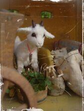 Mohair/Viscose, Kid Goat Pattern 4 x 4.5 inch
