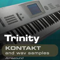 KORG TRINITY for KONTAKT 256 NKI 2523 WAV SAMPLES 2GB 24BIT MAC PC MPC DOWNLOAD