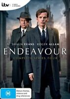 Endeavour Complete Series Four 4 DVD NEW Region 4