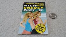 Globe Mini Mag #848 High Energy Diet Lose Weight Feel Better Look Good! 1988 NOS