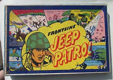 Frontline Jeep Patrol Lido Toy Co. 1942 Board Game Complete HTF Grail