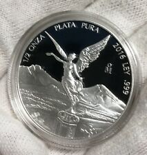 Mexican Silver Proof Libertad 2016 0.5 Toz in Capsule