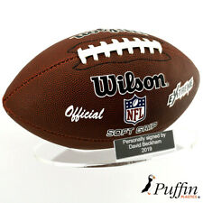 More details for american football landscape wall stand (with free inscription plaque)
