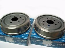PAIR MEYLE Rear Brake Drums for VW T25 Transporter Van & Camper 1980-1992