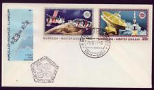 Solo tag lettera Mongolia apollo soyuz Cold spaziale Soyuz 1975 CCCP USA spazio