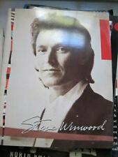 Steve Winwood concert program