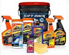 Armor All Ultimate Car Care Gift Pack Car Wash Detailing Cleaning Kit 10 Pieces