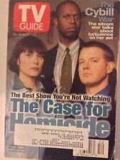 Tv Guide Magazine Michelle Forbes Andre Braugher December 28, 1997  082817nonrh