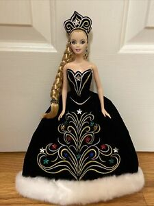 Holiday 2006 Barbie Doll By Bob Mackie- Stunning Princess Gown