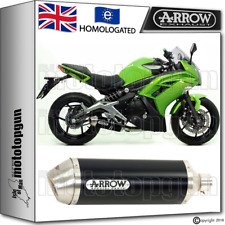 ARROW EXHAUST RACE-TECH ALUMINIUM DARK HOM KAWASAKI ER-6F 2014 14 2015 15