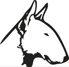 Sticker Chien 141 Bull Terrier - 58x57 cm
